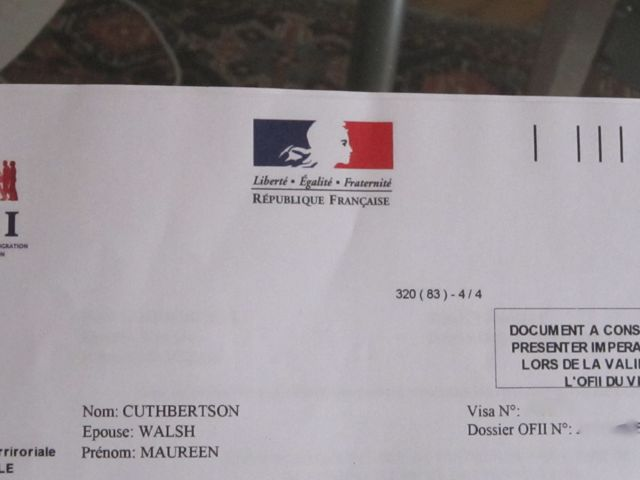 Finally legal in france or where oh where is my ofii stamp a official letter of invitation stopboris Gallery